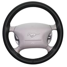 Mustang Wheelskin Steering Wheel Cover Black (94-04)