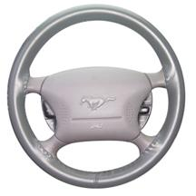 Mustang Wheelskin Steering Wheel Cover Light Gray (94-04)