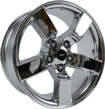 "F-150 SVT Lightning Wheel - 20X9""  Chrome (99-04)"