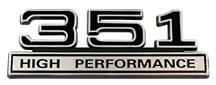 SVT Lightning 351 High Performance Emblem Black  (93-95)