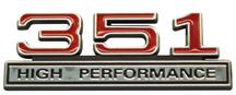 SVT Lightning 351 High Performance Emblem Red  (93-95)
