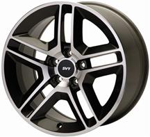 2005-14 MUSTANG MACHINED 2010 GT500 STYLE WHEEL, 18X9.5,  M-1007-DC1895
