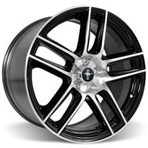 Mustang Ford Racing 2012 Boss 302 Laguna Seca 19X9 Black With Machined Face (05-15)