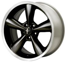 Mustang Ford Racing Bullitt Wheel 18X8.5  Black  (05-14)