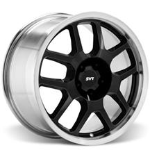 Mustang Ford Racing GT500 Wheel - 18X9.5 Black W/ Machined Lip (05-15)