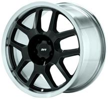 Mustang Ford Racing GT500 Wheel Black With Machined Lip (05-14)