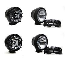 "F-150 SVT Raptor Ford Racing 6"" Round Auxiliary HID Lights  Set Of 4 (10-14)"