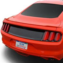 Mustang Ford Racing Deck Lid Trim Panel Black (15-16)