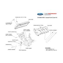 Mustang Ford Racing Coyote Timing Cover & Cam Cover Kit (11-15) 5.0