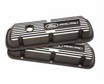 Mustang Ford Racing Valve Covers with Ford Racing Logo Black  (79-85) 5.0L/5.8L Carbureted