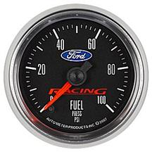 "Ford Racing 2 1/16"" Fuel Pressure Gauge"