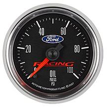 Mustang Ford Racing Oil Pressure Gauge - 2 1/16""
