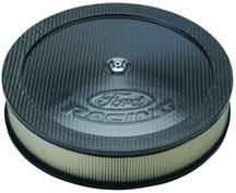 Mustang Ford Racing Air Cleaner with Ford Racing Logo Carbon Fiber  (79-85)