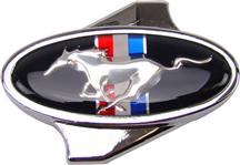 Mustang Running Pony Chrome Air Cleaner Wing Nut