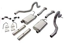 Mustang Magnaflow Cat Back Exhaust System Stainless Steel (86-93) 5.0
