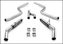 Mustang Magnaflow Cat Back Dual Exhaust Kit  (05-09) 4.0