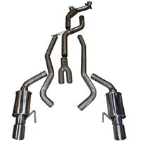Mustang MRT Complete Exhaust System 400 Cell (2015) 2.3