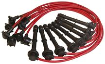 Mustang MSD Super Conductor Spark Plug Wires Red (96-98) 4.6 4V