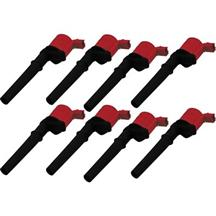 Mustang MSD 4V Coil Packs Red (99-14)