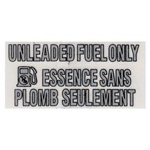 F-150 SVT Lightning Unleaded Fuel Only Decal (93-95)