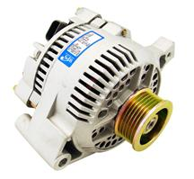 Mustang 95 Amp Alternator Satin (87-93) 5.0