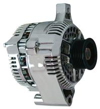 Mustang 130 Amp Alternator  Chrome (87-93) 5.0