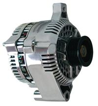 87-93 MUSTANG 5.0L 200 AMP POLISHED ALTERNATOR