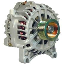 Mustang PA Performance 200 Amp Alternator Bare Aluminum (05-08) 4.6L