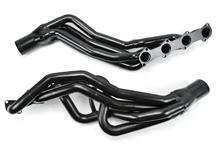 "Mustang Pacesetter Long Tube Headers, 1 5/8"" Primaries, 3"" Collectors Black (96-04) 4.6 2V"