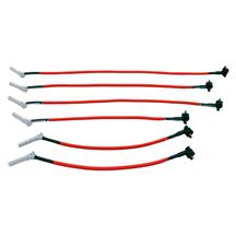 Mustang Livewires  Spark Plug Wire Set Red (05-10) 4.0
