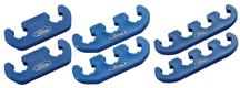 Mustang Ford Logo Blue Plug Wire Separator Set (79-95)