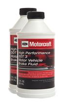 Motorcraft  Two Bottles High Performance Brake Fluid Two Bottles