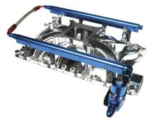 Mustang Professional Products Complete Fuel Rail Kit For Hurricane Intake Aluminum (86-93) 5.8