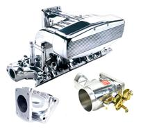 Mustang Professional Products Typhoon Intake, Intake Adapter, Throttle Body Kit Polished (94-95) 5.0
