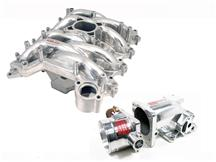 Mustang Professional Products Typhoon Intake Manifold, Plenum, Throttle Body Kit 75mm, Polished (99-04)