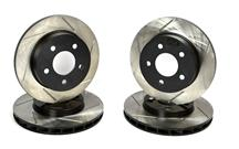 Mustang GT/V6 Slotted Front & Rear Rotor Kit. (94-04)