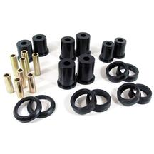 Mustang Prothane Rear Upper & Lower Control Arm Bushings, Oval (99-04)