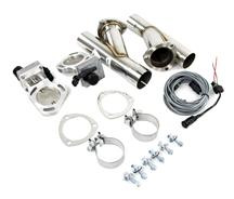 "Mustang Pypes 2.5"" Dual Electric Cutout Kit (79-14)"