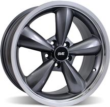 Mustang Bullitt Wheel - 18X10 Anthracite (05-15)