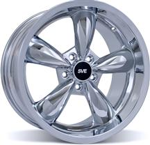 Mustang Bullitt Wheel - 18X10 Chrome (05-15)