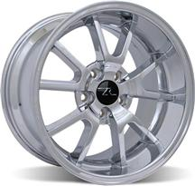 Mustang Deep Dish Fr500 Wheel - 18X10 Chrome (05-14)