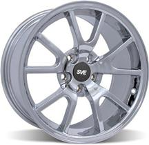 Mustang Fr500 Wheel - 18X9 Chrome (05-15)