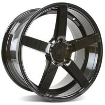 Mustang Rovos Durban Wheel - 18x9 Gloss Black (94-04)