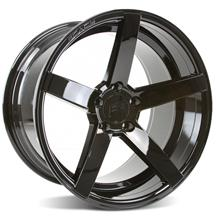 Mustang Rovos Durban Wheel - 18x10.5 Gloss Black (94-04)