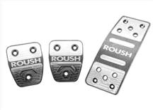 Mustang Roush Billet Aluminum Pedal Kit - Manual  (05-10)