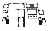 Mustang Roush Carbon Fiber Interior Trim Kit For Automatic (05-09)
