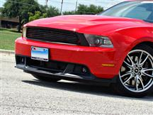 Mustang Roush 7 Bar Upper Billet Grille Black (10-12)