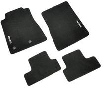 Mustang Roush Logo Floor Mats Black (11-14)