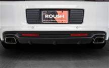 Mustang Roush Rear Valance Kit w/ Axle Back Exhaust, 5.0 & 5.8 (13-14)