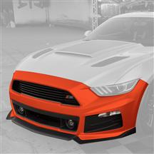 Mustang Roush Complete Front Fascia Kit Competition Orange (2015)